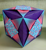 Purple Origami Box