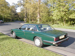 P1010027 (saabfan) Tags: park green sport racing eastbourne british 1991 jaguar hampden xj xj6 6cyl xj40 6cylinder 200hp 200bhp