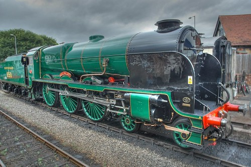 Steam Train HDR