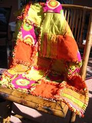 Sophia's rag quilt