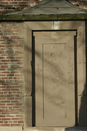 Door in Ida B. Wells