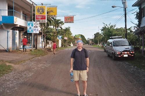 Dave in Cahuita Costa Rica