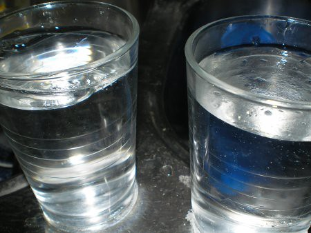 Vasos congelados
