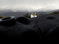 Towardsblackcombe (Kate Kirkwood) Tags: landscape farming lakedistrict silage tyres midwinter blackcombe fellfarming slproject