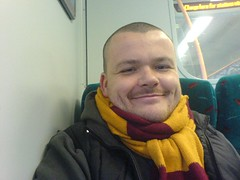 The Headphonaught with Motherwell Scarf