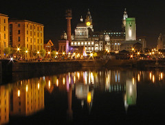 Albert dock Liverpool (Mr Grimesdale) Tags: reflection night liverpool nightime 2008 albertdock capitalofculture mrgrimsdale stevewallace capitalofculture2008 liverpoolcapitalofculture2008 europeancapitalofculture2008 photofaceoffwinner liverpoolcapitalofculture pfogold mrgrimesdale grimesdale