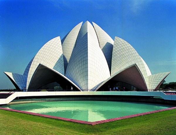 templo flor de loto india