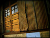 Brown Industrial Doors (corrugated and loving it)