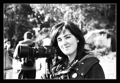 Diana! (DavidGorgojo) Tags: bw film 35mm bn ilfordhp5 diana pelicula fotógrafa objetivo minoltadynax5 dianabas