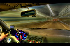 drive, drive, drive... (Toni_V) Tags: city longexposure car topv111 vw d50 golf volkswagen cool driving traffic zurich perspective tunnel topv222 gti hdr 18t 2007 garmin photomatix gorillapod 5exp toniv schneichtunnel p1f1 30faves30comments300views nvi 021607 toniv