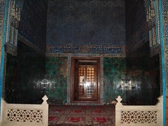 Tempat Istirehat Sultan Di Dalam Green Mosque, Bursa, Turkey