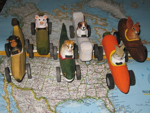 Toy Critters of Love Coast to Coast in the USA