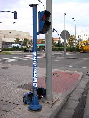 semaforo roto