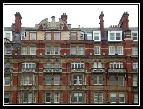 Victorian Wall of Windows