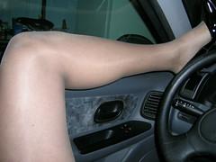 dan (52) (DannyDC) Tags: car crossdressing heels strangled