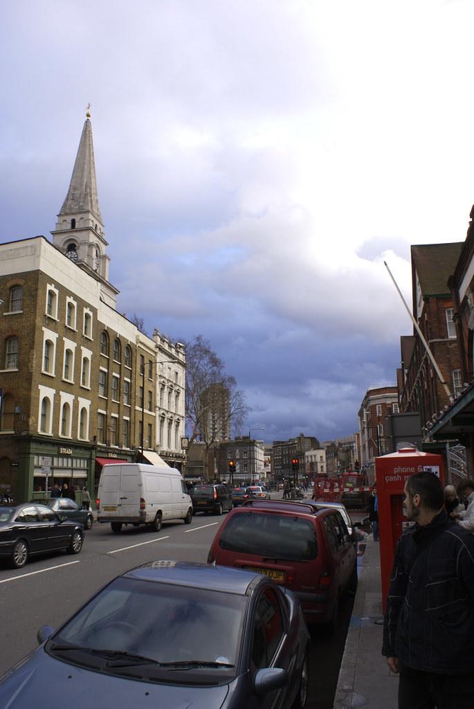 Spitalfields Sky