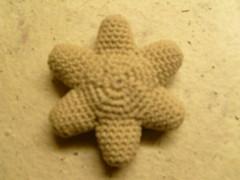 """Stuffed crochet flower """"amigurumi style"""" (milles) Tags: flower stuffed beige handmade crochet"""