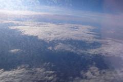 La típica foto desde la ventanilla del avión (9:15)