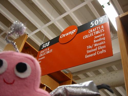 Pink Craftie visits the Orange Room at Powells