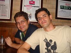 Cris Dias e Fabio Seixas