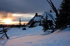 Timberline Lodge (jesse.millan) Tags: winter sunset snow oregon d50 landscape nikon mt lodge mthood hood timberline timberlinelodge stopdown lodgeexterior
