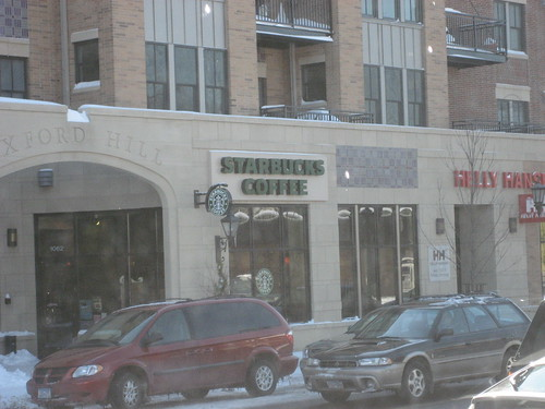 Starbucks Coffee on Grand Ave, St. Paul, MN