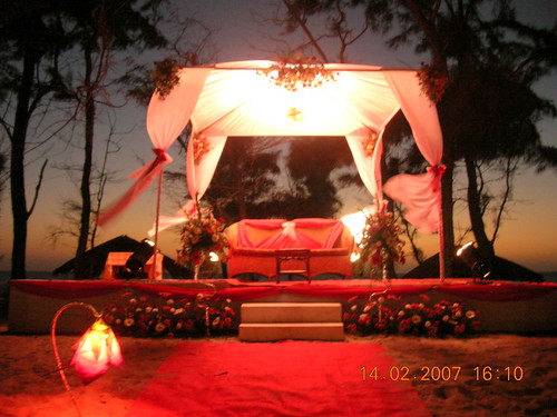 Elegant wedding decoration 2009