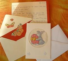 Easter Card Echange