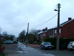 Traditional electric supply in Wommelgem (LHOON) Tags: electric walking belgium belgique hiking walk belgi electricity wommelgem   gr12