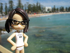 Even Sayuri is impressed with Manly beach