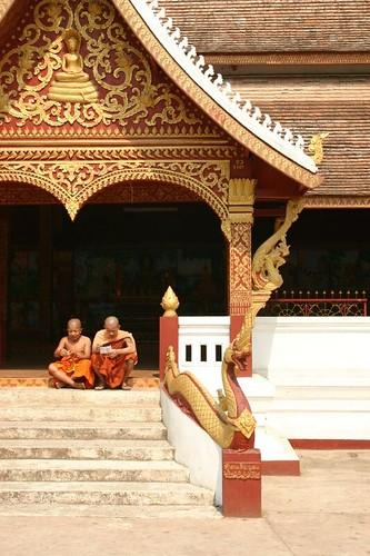 Wat Manorom, Louang Prabang