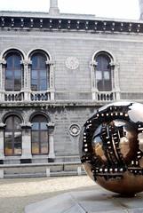 Trinity Globe Statue