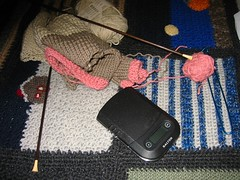 Kimono WIP and New Toy
