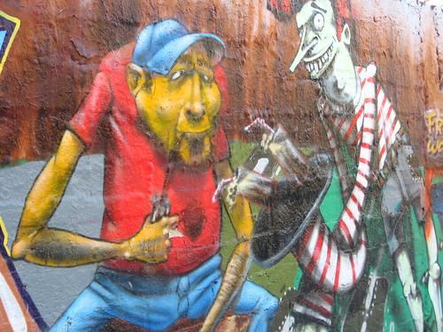 Graffiti art in Thessaloniki, Greece
