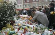 Ofrenda a las víctimas de ETA en Madrid