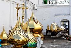 Domes For Sale (Todor Kamenov ) Tags: wow nikon ukraine monastery nikkor 50mmf18d orthodox kyiv pechersklavra d80