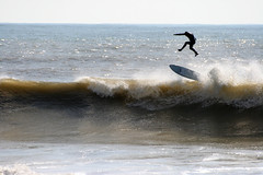Surfing at Freshwater Bay, Isle of Wight. Gravity (s0ulsurfing) Tags: ocean uk sea england sun sunlight beach water beautiful silhouette composition island bay coast high cool fantastic jump exposure surf waves action surfer awesome flight wave surfing spray coastal isleofwight surfboard getty coastline suspended reef swell isle leap breaker wetsuit wight 2007 freshwater timing bailing freshwaterbay gjp outstandingshots s0ulsurfing abigfave p1f1 superbmasterpiece diamondclassphotographer flickrdiamond bppslideshowwaterscapes gettyvacation2010 welcomeuk