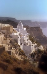 "Santorini...for my flickrfriend ""Frizz Text""... (poly_mnia) Tags: greece santorini oia frizztext abigfave merhaba olympus om10 olympusom10 blue sea mediterranean volcano cyclades caldera superbmasterpiece merhb dearflickrfriend friends friendship expore explored"