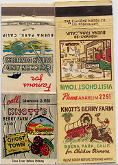 Knott's matchbooks.
