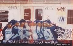rem (Zomboider) Tags: newyork subway graffiti panel oldschool 311 cac cod rem jhf