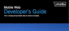 Una parte de la portada de la guia de desarrollo web para dispositivos móviles
