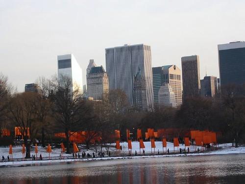the gates central park new york city. the gates central park new