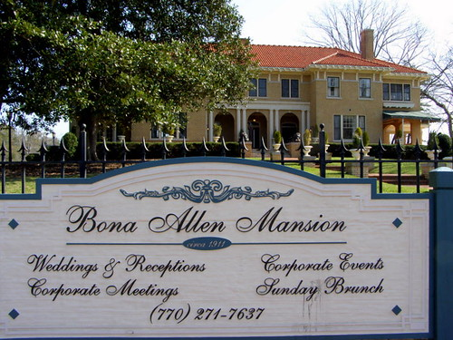 Bona Allen Mansion Buford Ga.  National Register for Historic Places