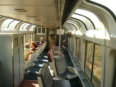 Lounge Car, Amtrak Train