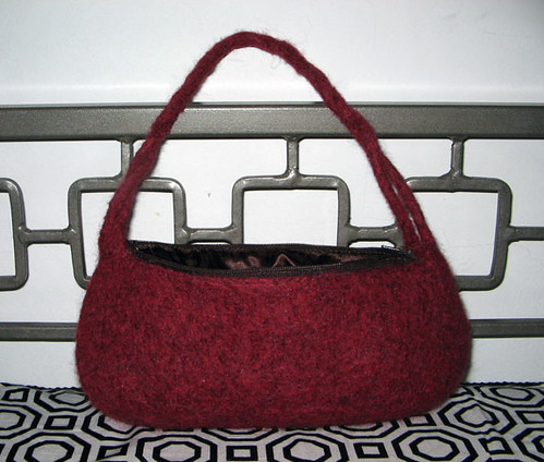 Modified Sophie bag from magknits