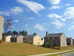 view (BoringPostcards) Tags: atlanta house home georgia developer suburb sprawl neighbors neighbor conformity mcmansion subdivision