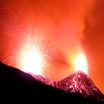 Vigorous Strombolian activity at Etna