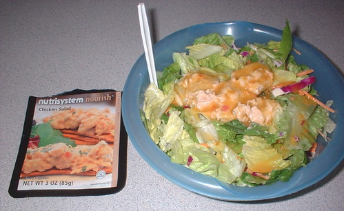 NutriSystem Chicken Salad lunch