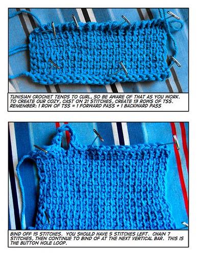 Crochet TSS Cozy Tutorial