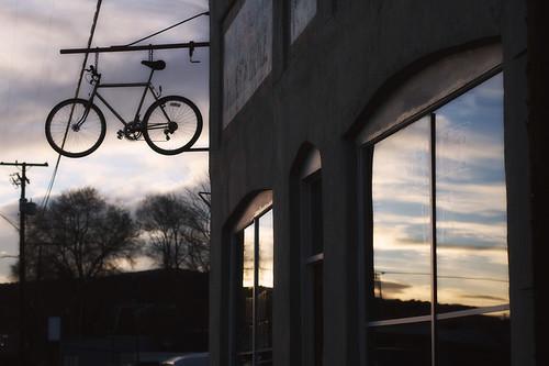 Sky and Bike